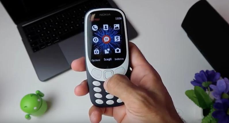 Nuovo Nokia 3310 Recensione