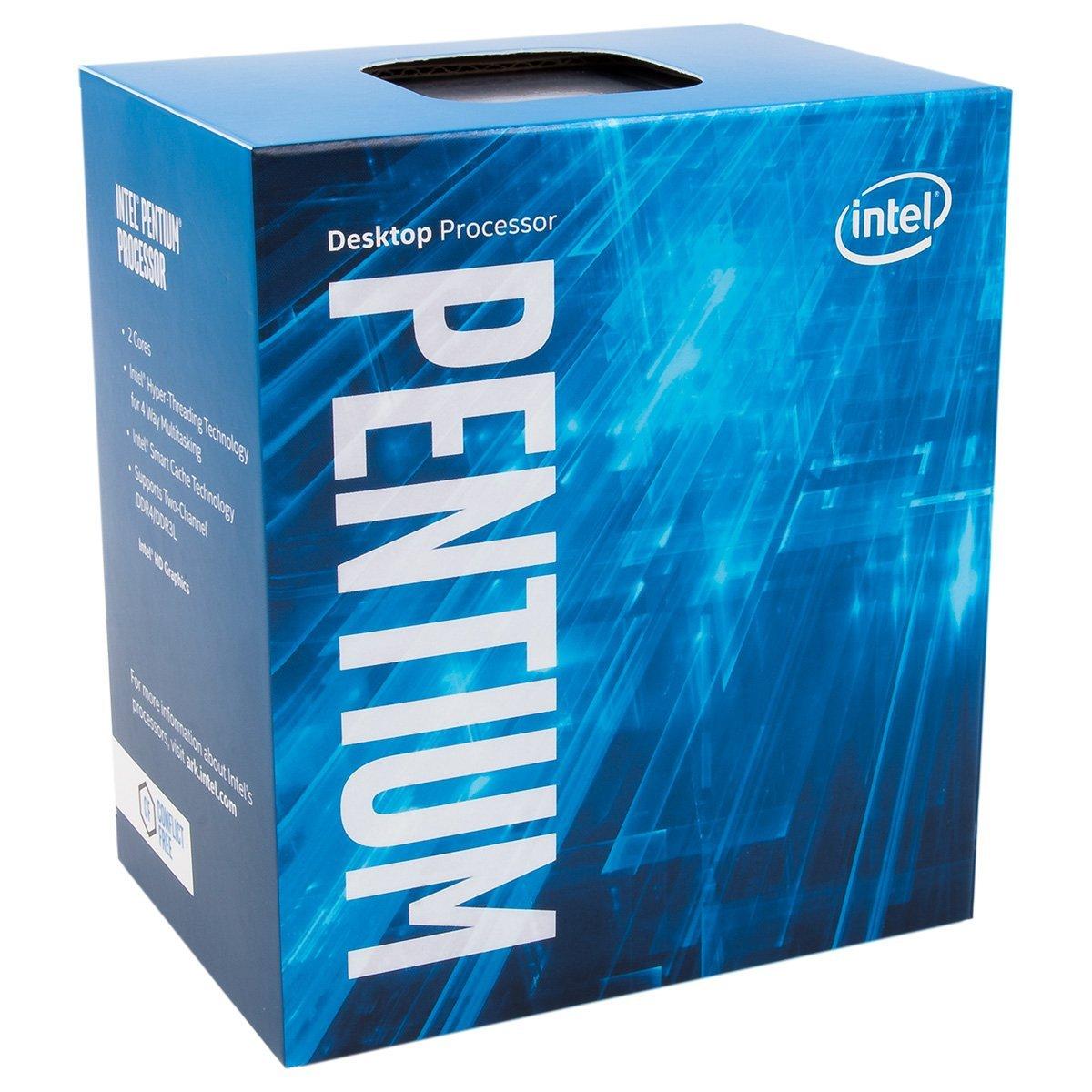 Intel Pentium Dual Core 3.6 GHz CPU G4600
