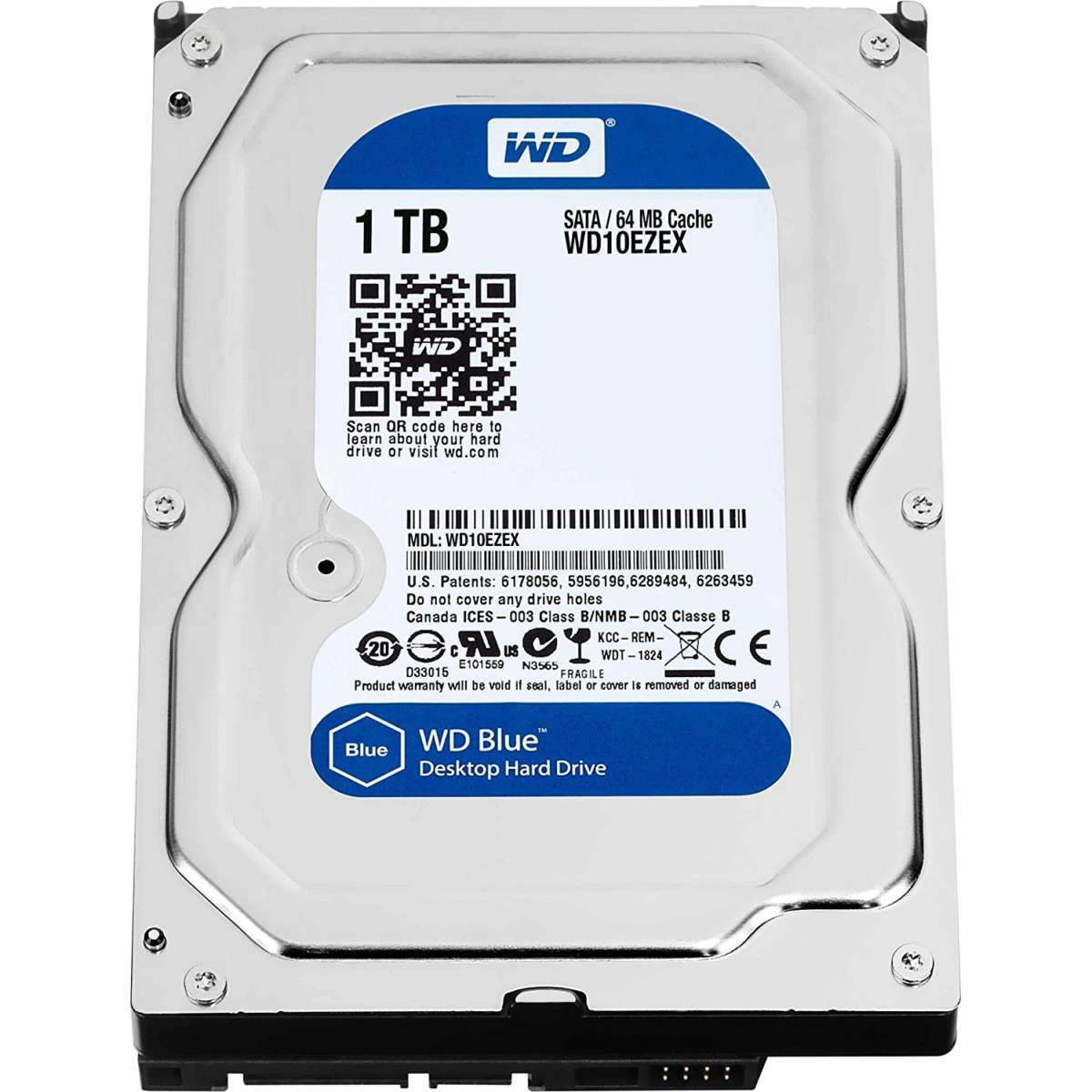 WD WD10EZEX Blu Hard Disk Desktop da 1 TB