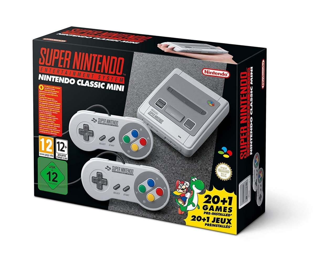 regali tech - nintendo classic mini
