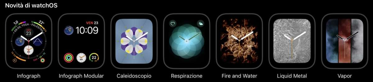 recensione Apple Watch 4 Nike + watch faces