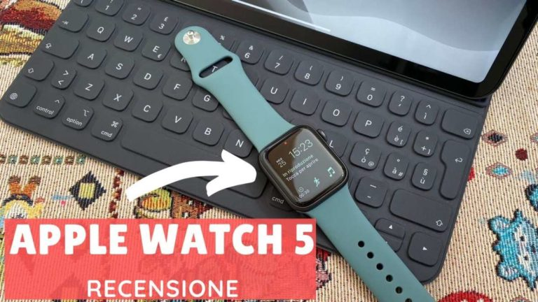 Recensione Apple Watch Series 5