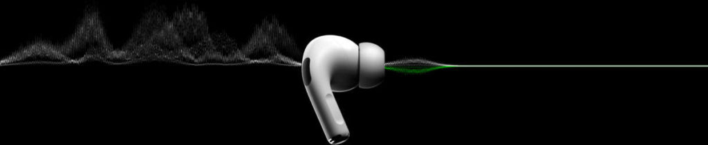 AirPods pro cancellazione rumore attiva funzione trasparenza