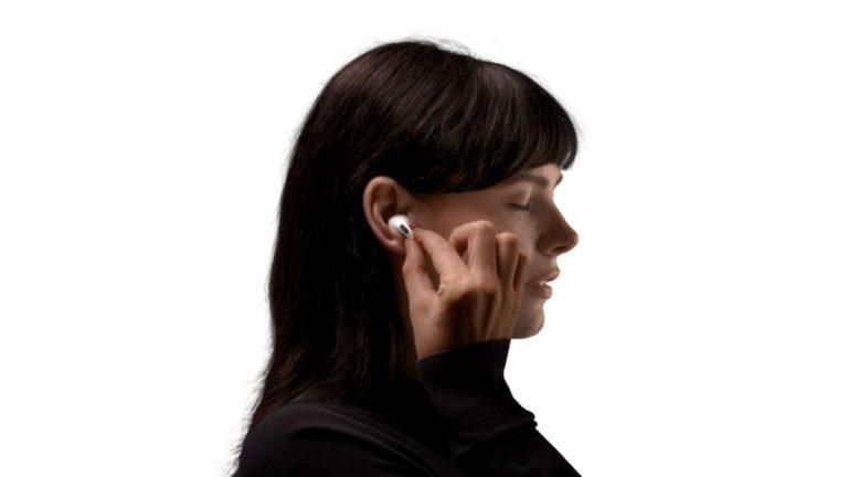 Apple Rilascia le AirPods Pro: cancellazione rumore attiva, funzione trasparenza e resistenza a sudore e polvere