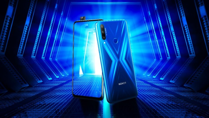honor 9x pop-up