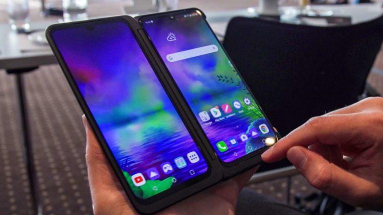 LG G8X ThinQ, svelati prezzo e data d'uscita del Dual Screen di LG