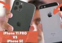iphone 11 pro vs iphone se comparativa confronto
