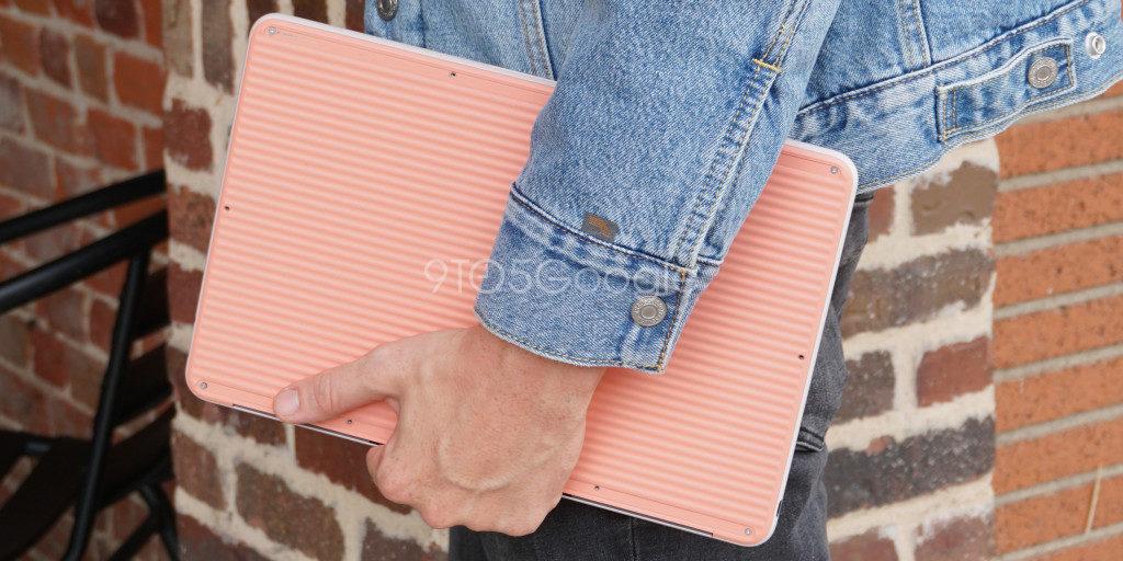 pixelbook go google fondo rosa