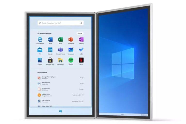 Windows 10X arriverà anche sui notebook tradizionali