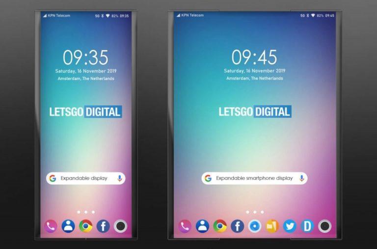 LG, un nuovo smartphone foldable che si srotola?