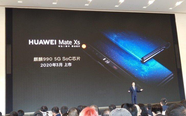Huawei Mate Xs, il nuovo foldable è realtà