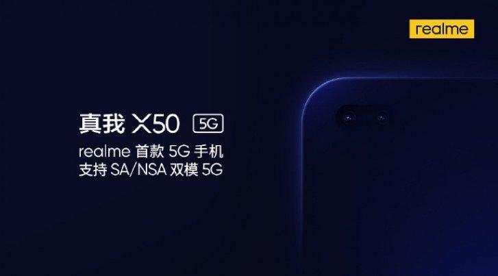 realme x50 5g camera