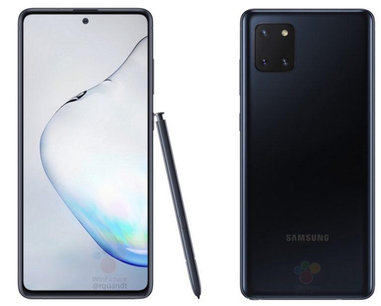 Samsung Galaxy Note10 Lite si presenta: le specifiche e quanto costerà