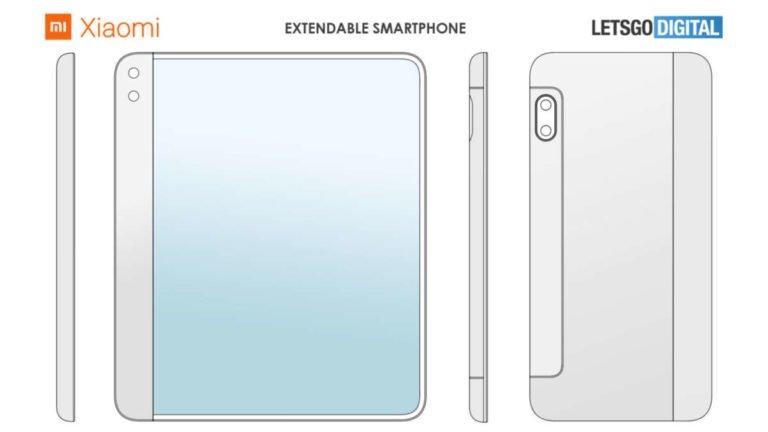 Xiaomi, ecco lo smartphone con display allungabile