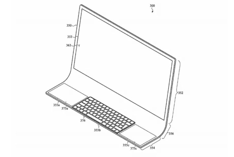 Apple, un brevetto per un iMac curvo in vetro