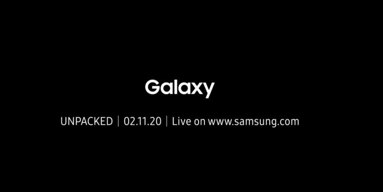 Samsung Galaxy S20, la presentazione è fissata all'11 Febbraio