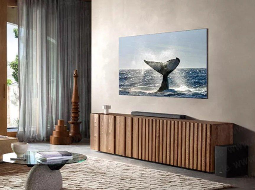 samsung tv 8k cornici