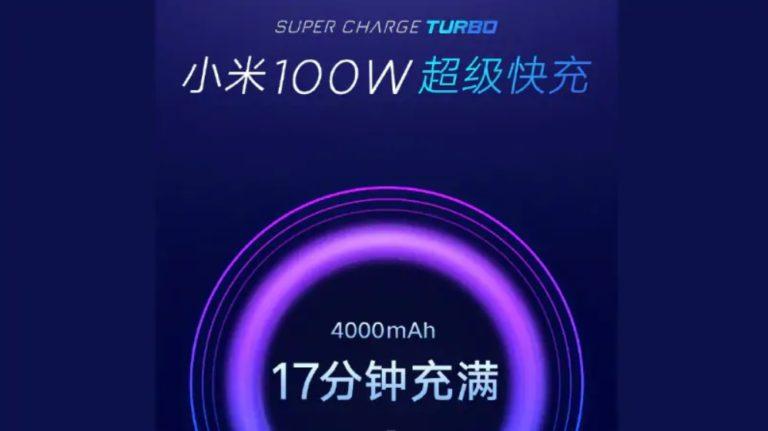 Xiaomi, per la ricarica a 100 W ci vorrà ancora tempo