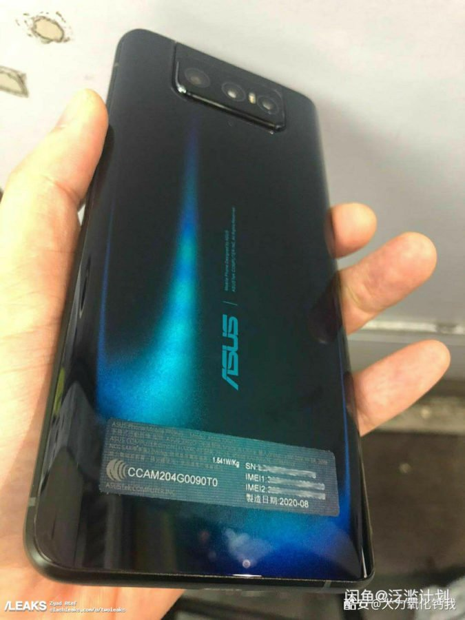 Asus Zenfone 7: ancora una flip-up camera?