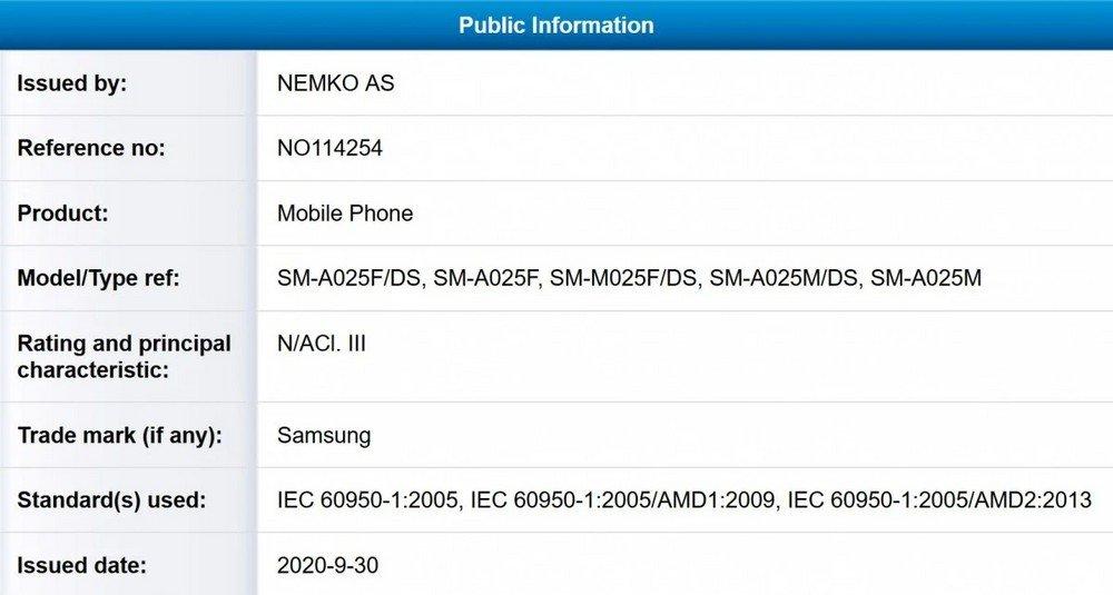 Samsung Galaxy A02 e M02, la fascia bassa è pronta a rinnovarsi