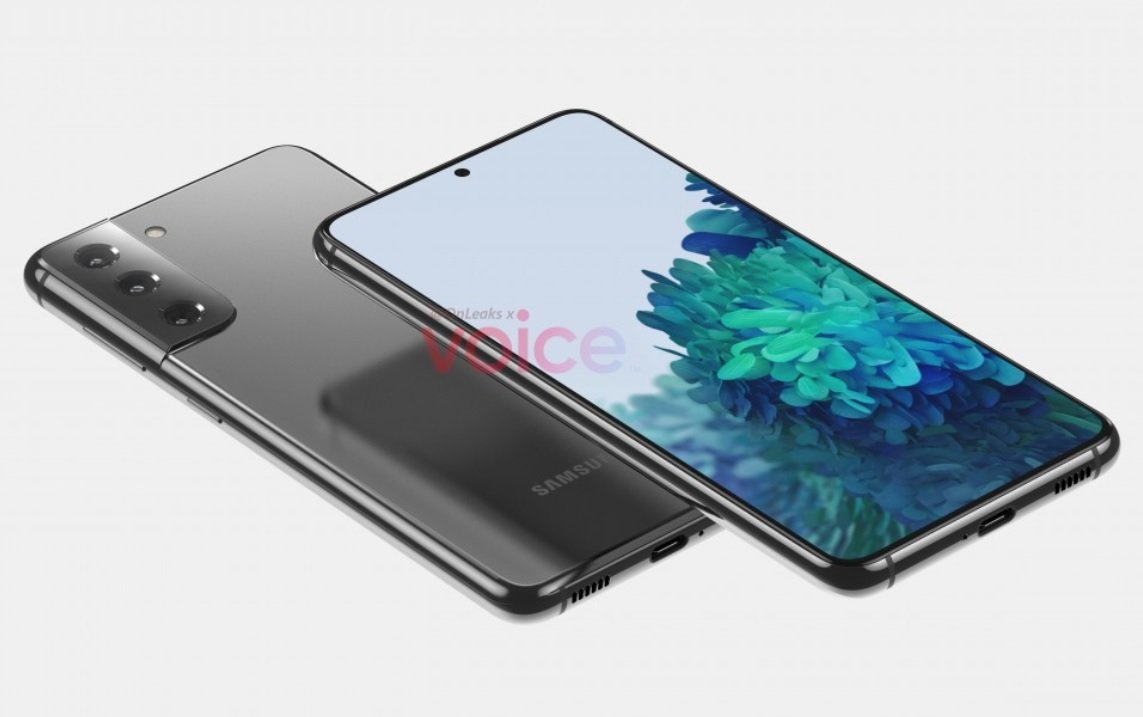 Samsung Galaxy S21 e S21 Ultra, in rete i primi render