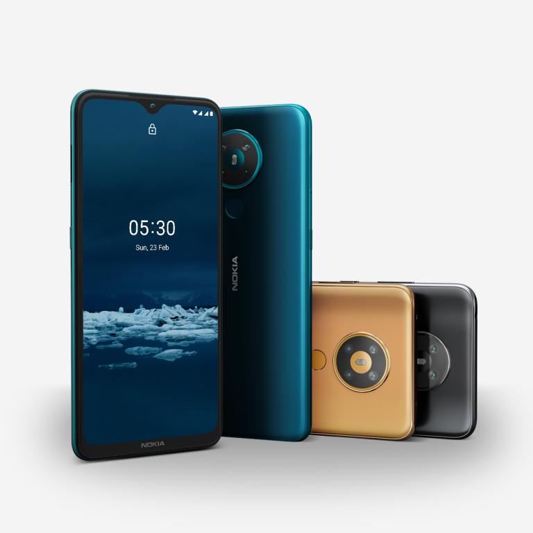 Nokia 5.4, rivelati prezzo e caratteristiche