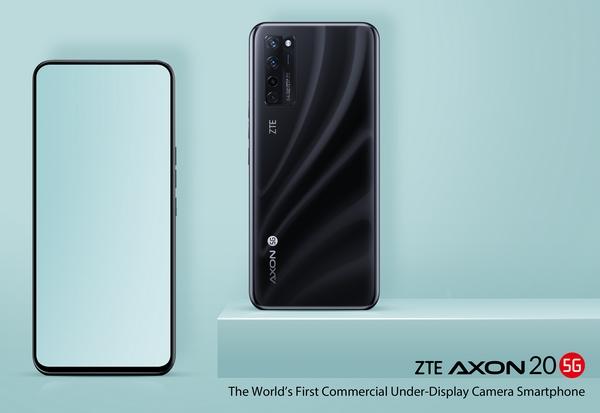 ZTE Axon 20 5G: il primo smartphone con fotocamera sotto il display ora anche in Europa